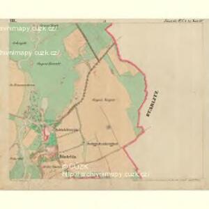 Bistritz - c0723-1-005 - Kaiserpflichtexemplar der Landkarten des stabilen Katasters