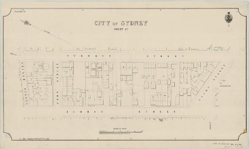 City of Sydney, Sheet C3, 1888