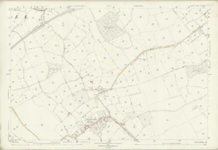 Somerset LXXXIV.3 (includes: Abbas Combe; Charlton Horethorne; Henstridge; Milborne Port) - 25 Inch Map