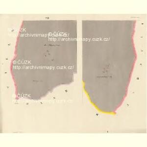 Alt und Neu-Klitschau - c3160-1-004 - Kaiserpflichtexemplar der Landkarten des stabilen Katasters