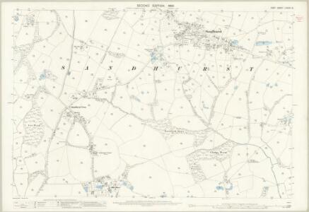 Kent LXXVIII.12 (includes: Sandhurst) - 25 Inch Map