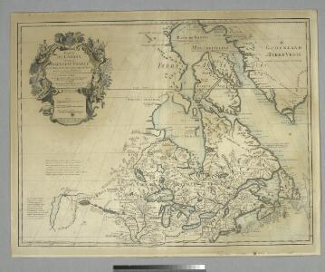 Carte du Canada ou de la Nouvelle France : et des découvertes qui y ont été faites / dressée sur plusieurs observations et sur un grand nombre de relations imprimées ou manuscrites par Guillaume del'Isle de l'Académie royale des sciences et premier géogr