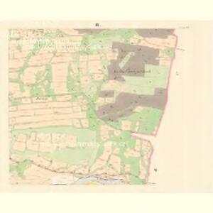 Zaschau (Zassow) - m3563-1-009 - Kaiserpflichtexemplar der Landkarten des stabilen Katasters