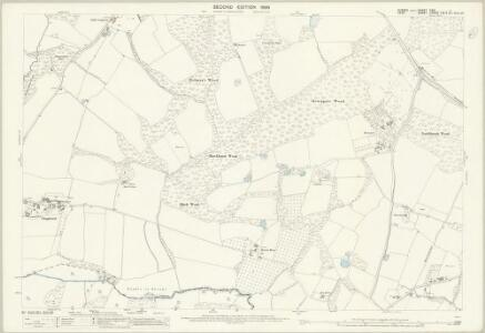 Sussex XXXI.1 (includes: Bodiam; Hawkhurst; Sandhurst) - 25 Inch Map