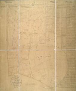 PLAN of the several Freehold Estates situated on the North side of the New Road within the Parish of St. Mary-le-bone and Parts of Hampstead and St. Pancras in the County of Middlesex