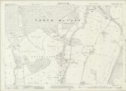 Hampshire and Isle of Wight LXXVI.3 (includes: Rowlands Castle) - 25 Inch Map