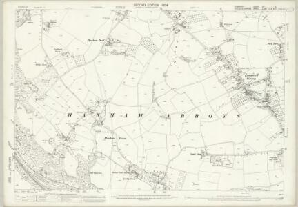 Somerset VII.5 (includes: Hanham Abbots; Keynsham; Kingswood; Oldland; Unnamed) - 25 Inch Map