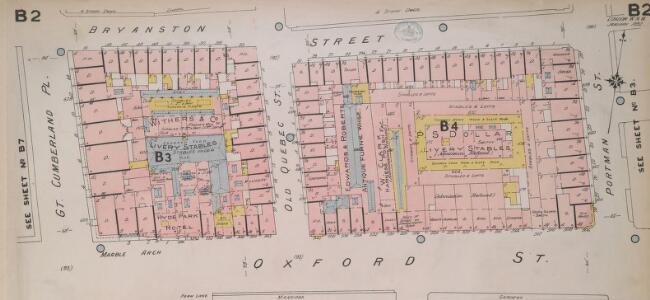 Insurance Plan of London West, North West Vol. B: sheet 2-1