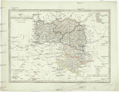 Karte von Herzogthum Steyermark