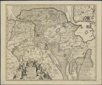 Corectissima nec non novissima dominii et provinciae Groningae et Omlandiae tabula