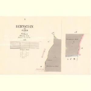 Bernstein - c6645-1-001 - Kaiserpflichtexemplar der Landkarten des stabilen Katasters