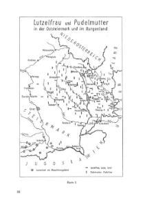 Lutzelfrau und Pudelmutter in der Oststeiermark und im Burgenland