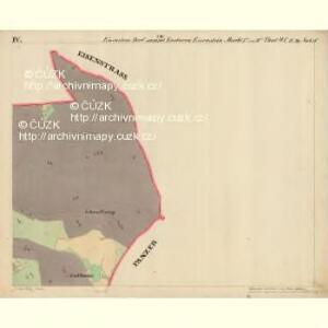 Eisenstein Dorf - c7755-2-004 - Kaiserpflichtexemplar der Landkarten des stabilen Katasters