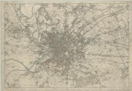 Lancashire CIV - OS Six-Inch Map
