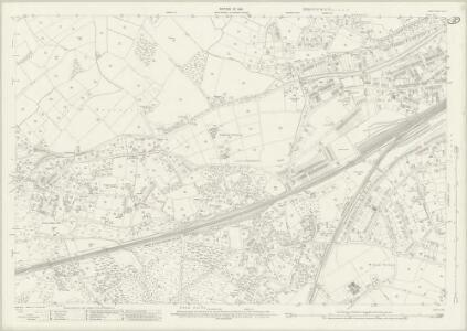 Surrey XVI.12 (includes: Horsell; Woking) - 25 Inch Map
