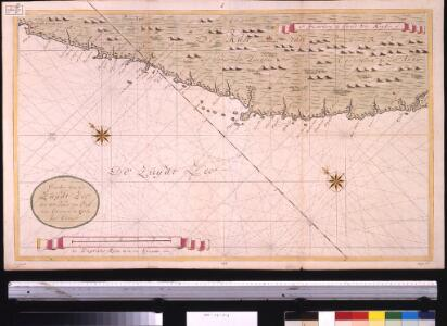 Een gedeelte van de Zuijdt Zee aen de kust van Peru van Guarmaij tot Quila int groot