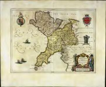 Comitatvs Caernarvoniensis; vernacule Carnarvon-Shire. et Mona insvla vulgo Anglesey