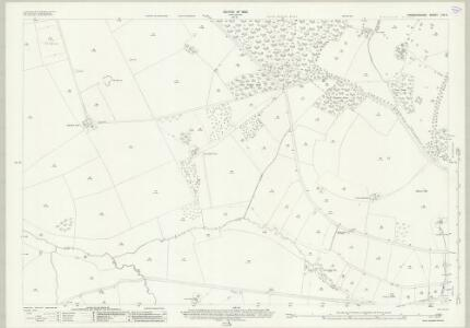 Warwickshire LVII.9 (includes: Barton on The Heath; Little Wolford; Long Compton) - 25 Inch Map