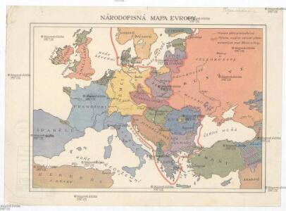 Národopisná mapa Evropy