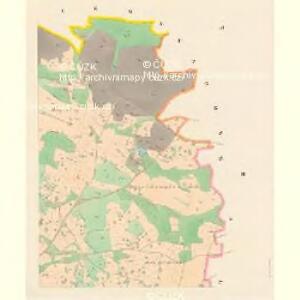 Slatina - c7000-1-002 - Kaiserpflichtexemplar der Landkarten des stabilen Katasters