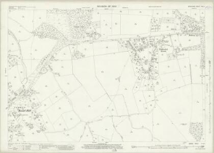 Berkshire XXX.4 (includes: Bisham; Hurley; Shottesbrooke; White Waltham) - 25 Inch Map