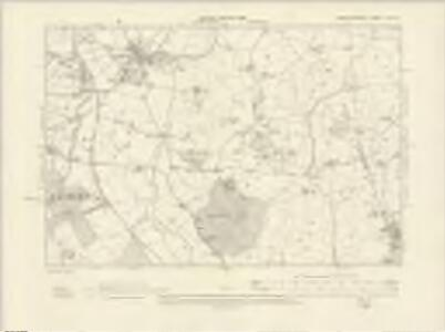 Worcestershire XVI.SE - OS Six-Inch Map