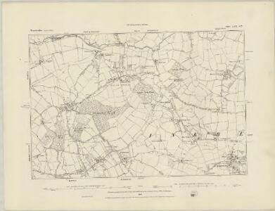 Worcestershire XXIX.NE - OS Six-Inch Map