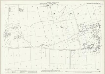 Lincolnshire XLV.11 (includes: Middle Rasen; West Rasen) - 25 Inch Map