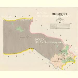 Berndörel (Nedwet) - c5092-1-002 - Kaiserpflichtexemplar der Landkarten des stabilen Katasters