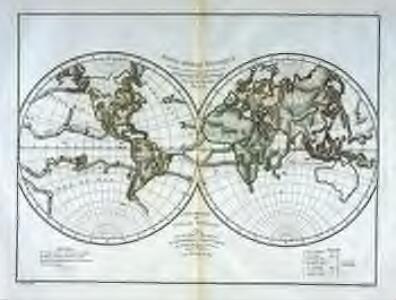 Mappe-Monde physique