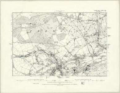 Cornwall LXIII.SE - OS Six-Inch Map
