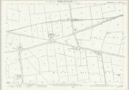 Cambridgeshire VI.13 (includes: Thorney) - 25 Inch Map