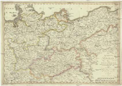 Die Königreiche Sachsen und Westphalen nach der neuesten astronomischen Beobachtungen und den besten Hülfsmitteln verfasst