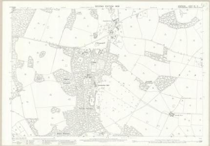 Shropshire XVI.12 (includes: Cheswardine; Tyrley) - 25 Inch Map