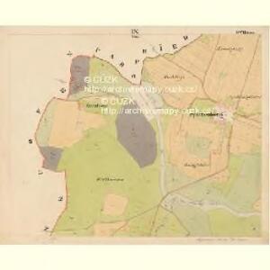Pernek - c5699-1-009 - Kaiserpflichtexemplar der Landkarten des stabilen Katasters
