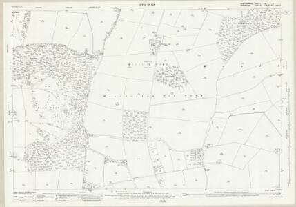 Staffordshire LXI.3 (includes: Boningale; Patshull; Pattingham; Wrottesley) - 25 Inch Map