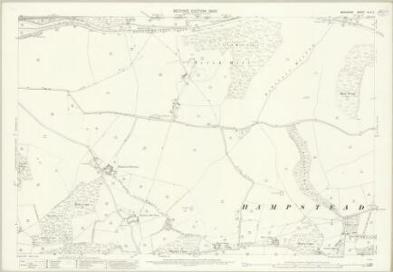 Berkshire XLII.2 (includes: Hampstead Marshall; Kintbury; Speen; Welford) - 25 Inch Map