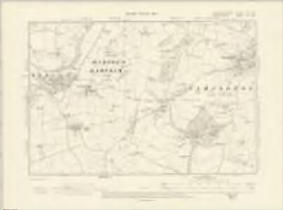 Gloucestershire VIII.NW - OS Six-Inch Map
