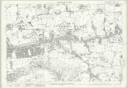 Gloucestershire LXXII.14 (includes: Bristol; Kingswood) - 25 Inch Map