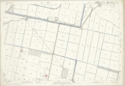 Yorkshire CCLXXXVI.2 (includes: Blaxton; Cantley; Finningley; Hatfield; Wroot) - 25 Inch Map
