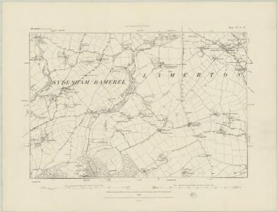 Devonshire CV.SE - OS Six-Inch Map