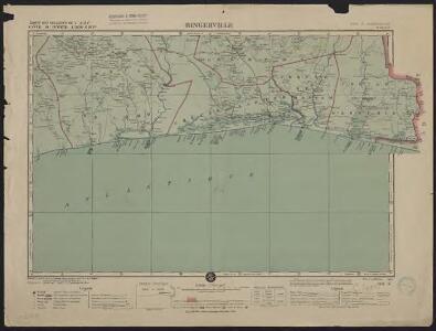Carte des colonies de l'A.O.F. Bingerville