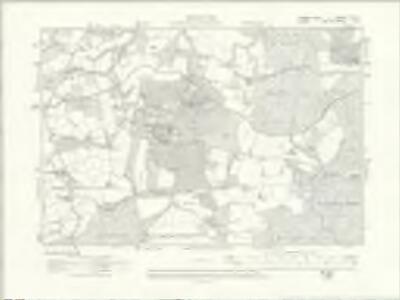 Sussex XI.NE - OS Six-Inch Map
