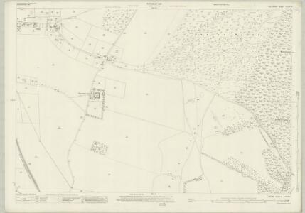 Wiltshire XLVIII.4 (includes: Collingbourne Ducis; Collingbourne Kingston) - 25 Inch Map