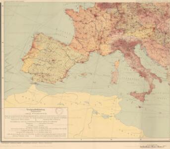 Europa befolkningskarta