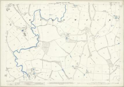 Sussex XII.8 (includes: Rudgwick) - 25 Inch Map