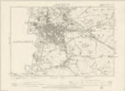Cheshire XI.NW - OS Six-Inch Map
