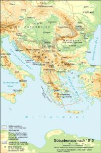 Südosteuropa nach 1815