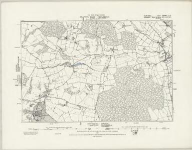 Staffordshire XXVIII.NW - OS Six-Inch Map