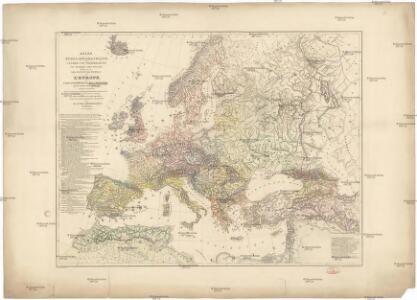 Atlas ethno-géographique ou Länder und Völkerkarten